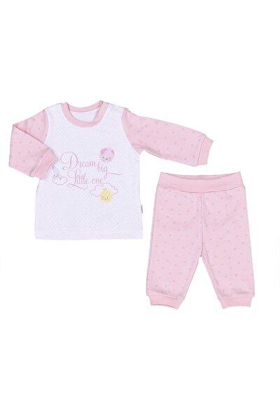 Kız Bebek Pembe Organik Dreams Big Little One 2'li Takım 59175