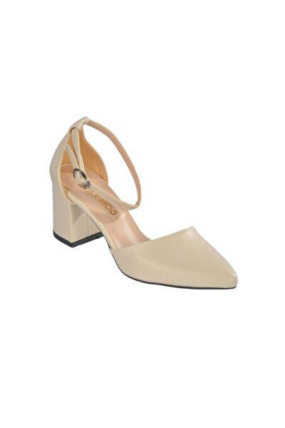 1903 Z.ayk Ten Kadın Topuklu Ayakkabı