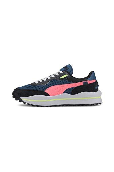 Unisex Mavi Bağcıklı Sneaker 37338102