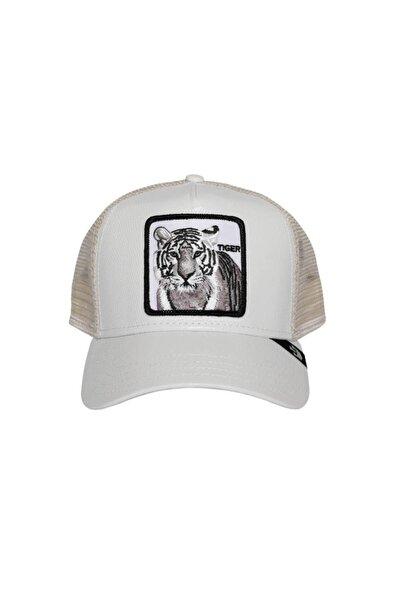Beyaz Killer Tiger Şapka