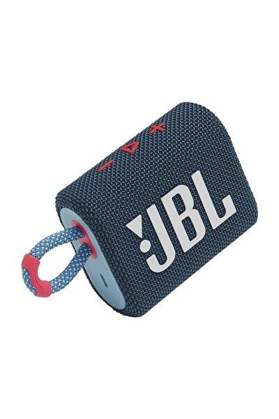 Go 3 Taşınabilir Bluetooth Hoparlör - Mavi/Pembe