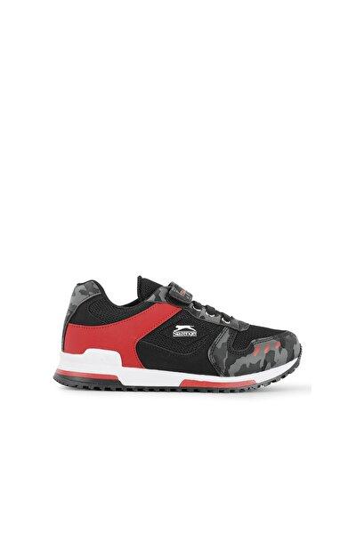EDMOND Sneaker Çocuk Ayakkabı Siyah Kamuflaj SA11LF013