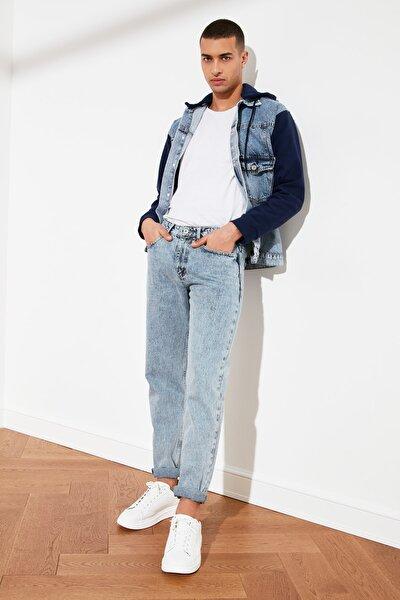 Açık Mavi Erkek Essential Fit Jeans TMNSS21JE0058