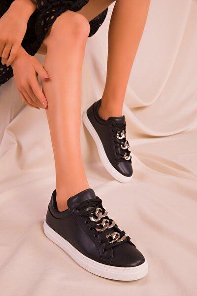 Siyah Kadın Sneaker 15799