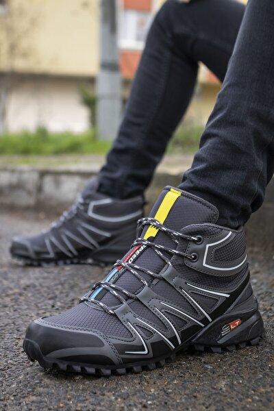 Erkek Füme Kışlık Ayakkabı Bot