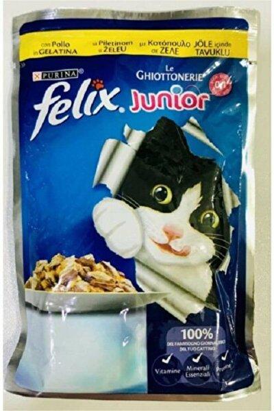 Junior Tavuklu 100 Gr Yavru Kedi Konservesi 0-1 Yaş 20 Adet