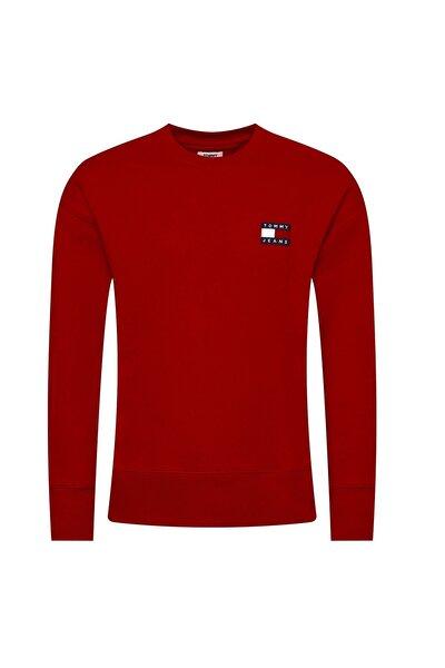 Erkek Badge Sweatshirt Dm0dm06592 Red