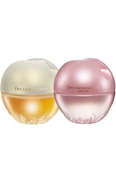 Kadın  Incandessence Kadın Parfüm Edp 50 ml + Avon Incandessence Lotus Parfüm Edp 50 ml Parfüm Seti