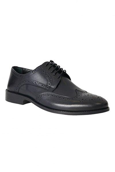 Erkek Lacivert Klasik Deri Ayakkabı