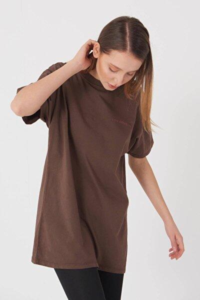 Yazı Detaylı T-shirt P9519 - J5