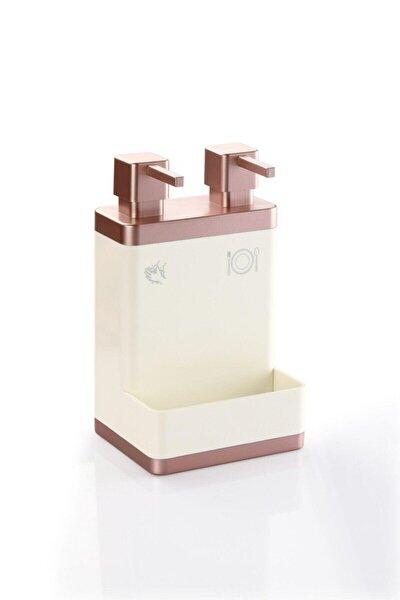 Ikili Sıvı Sabun Ve Deterjanlık (Rose)