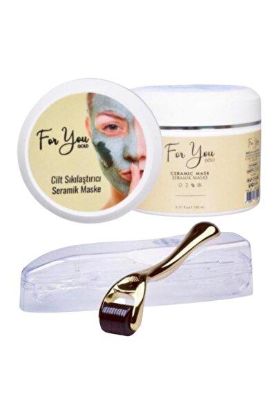 Seramik Maske (Akne Karşıtı - Gözenek Sıkılaştırıcı Maske) & Dermaroller