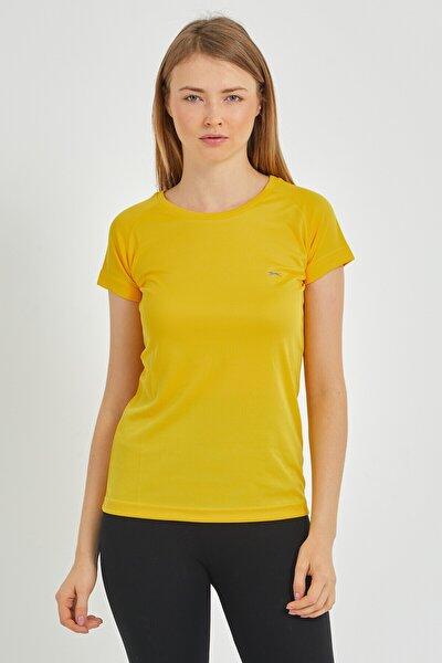 RELAX Kadın T-Shirt Sarı ST11TE050