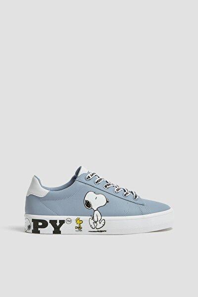 Snoopy Görselli Spor Ayakkabı