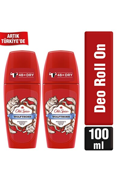 Wolfthorn 50 ml Roll On Deodorant x2
