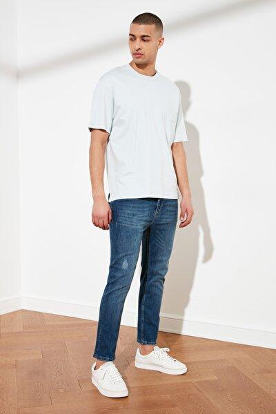 Indigo Erkek Skinny Cropped Jeans TMNSS21JE0054