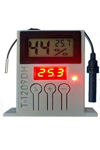 Higrometre Ve Termostat Kutulu Kuluçka Özel Tasarım Beyaz (kuluçka + Buzdolabı + Oda Termostatı)