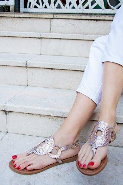 Bronz Kadın Sandalet H713011214