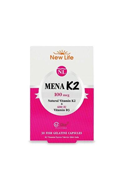 Mena K2+d3 Natural Vitamin 30 Kapsül