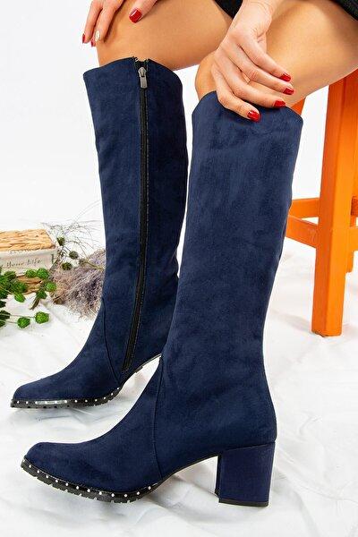 Lacivert Kadın Çizme C654652702