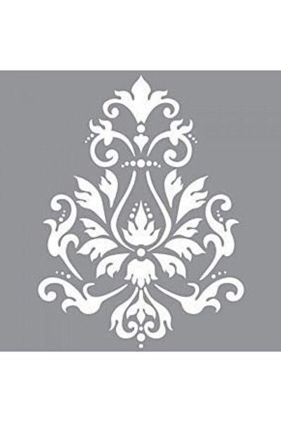 Damask 15 Stencil Tasarımı 30 X 30 Cm