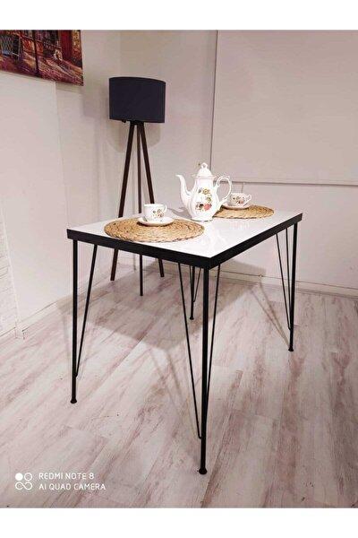 Sedef Yemek Masası Takımı-mutfak Masası Takımı-beyaz