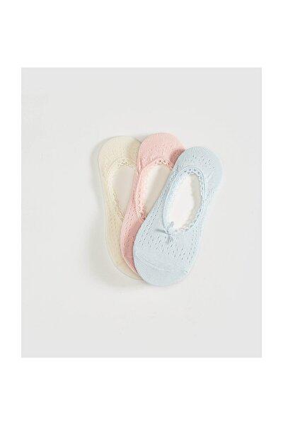 Kadın Bebek Mavi Babet Çorap