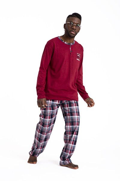 Yeni Ekonomik %100 Pamuk Erkek Yazlık Pijama Takımı