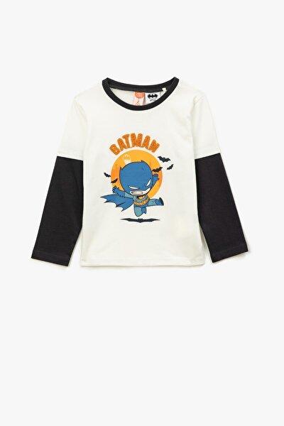 Ekru Erkek Bebek T-shirt