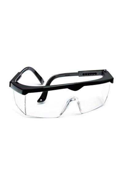 Ayarlanabilir Çapak Gözlüğü Şeffaf Ce Koruyucu Gözlük 3 Adet