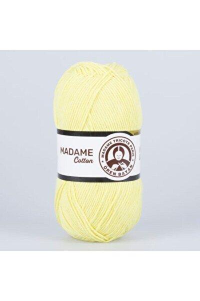 Sarı Madame Cotton Renk Kodu 006