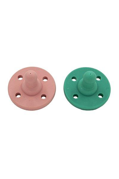 Ortodontik Emzik 2 Adet Yeşil Pembe