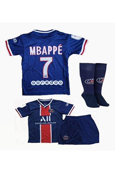 Futbol Forması Seti Mbappe Forma Şort Çorap