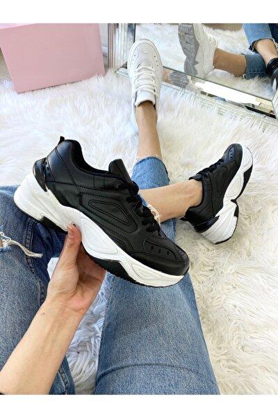 Unısex Sıyah Spor Ayakkabı