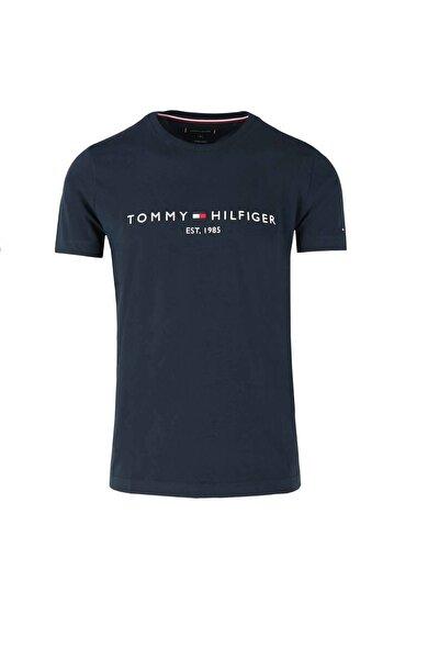 Erkek Lacivert  Logo Tee T-shirt Mw0mw11797