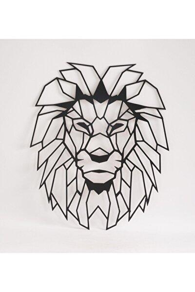 Aslan Başı Ahşap Gölge Dekoratif Duvar Tablosu