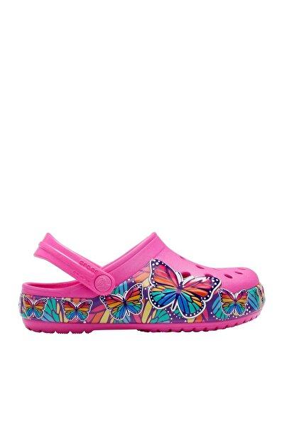 Crocs Pembe Kız Çocuk Spor Sandalet (Işıklı)