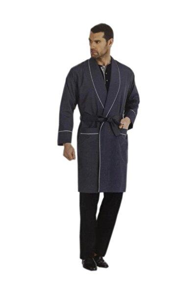 Erkek  Lacivert 5'li Çeyizlik Röbdoşambır  Pijama Takım