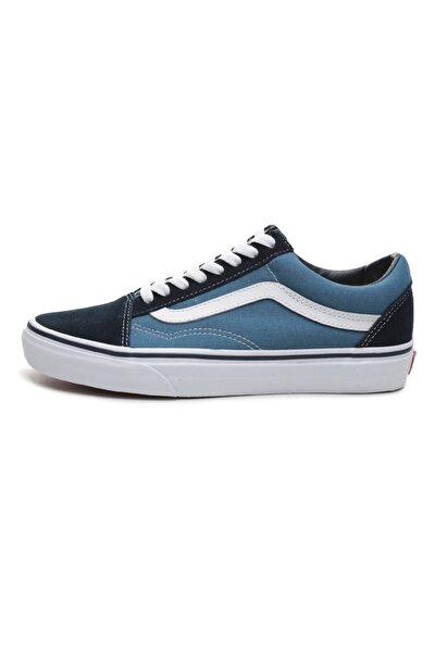 000d3hnvy1-r Old Skool Unisex Spor Ayakkabı Mavi