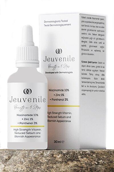 Niacinamide %10 + Zinc %1 + Panthenol %3 Cilt Yağı Dengeleyici ve Leke Karşıtı Serum 30 ml