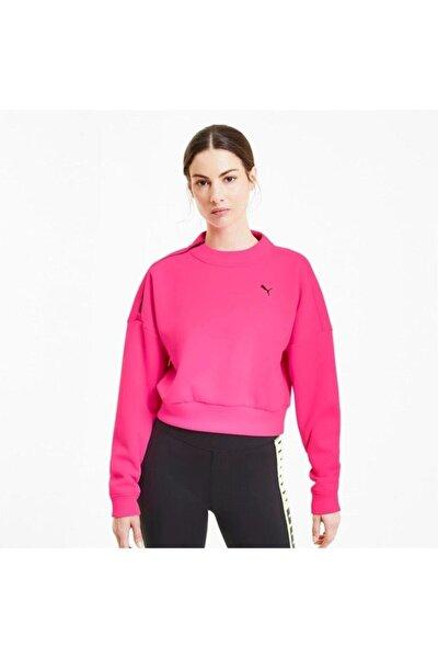 Train Brave Zip Crew Kadın Sweatshirt