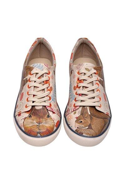 Çok Renkli Kadın Ayakkabı Dgsnk016-417
