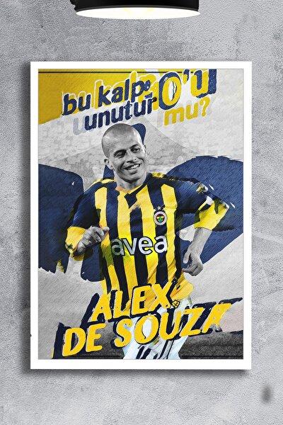 Fenerbahçe Alex De Souza Çerçevesiz 50x70 Poster
