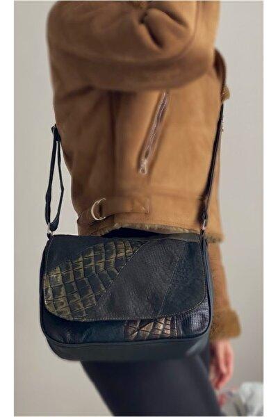Kadın Kahverengi Hakiki Deri Çanta