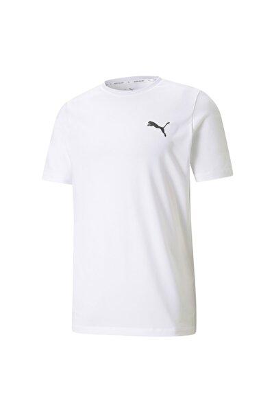 ACTIVE SMALL LOGO TEE Beyaz Erkek T-Shirt 101085577