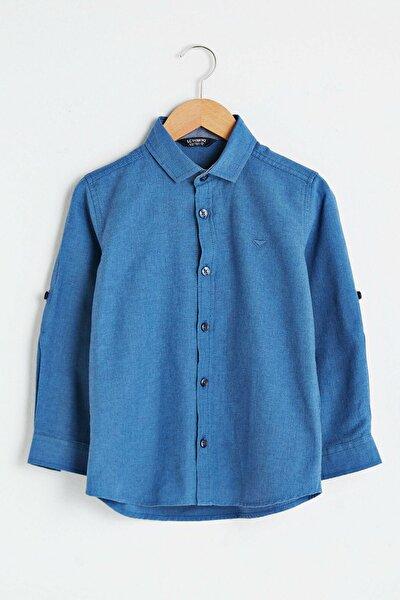 Erkek Çocuk İndigo Lacivert Jq6 Gömlek