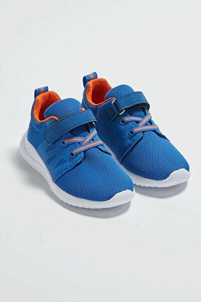 Erkek Çocuk Saks Mavi Crw Sneaker