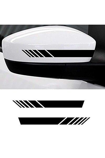 Ayna Şerit Sticker Yapıştırma | Araç Ayna Sticker