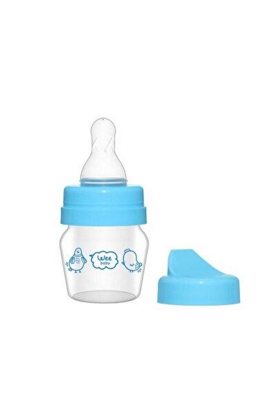 Mini Cam Alıştırma Bardağı Seti 30ml - Mavi
