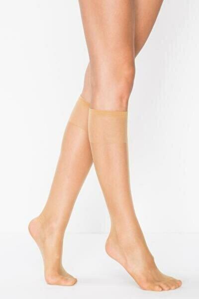 6'lı Süper Ince 15'den Mat Pantolon Çorabı (Diz Altı)